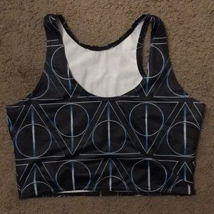 Black Milk Deathly Hallows Crop Top